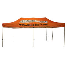 Wide Open Trade Show Canopy Tent 12x20 Large Size  Top Frame Heavy Duty Frame supplier