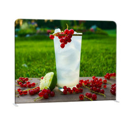 Straight Curved Trade Show Backdrop Displays U Shape Pop Up Stand Easy Operation supplier