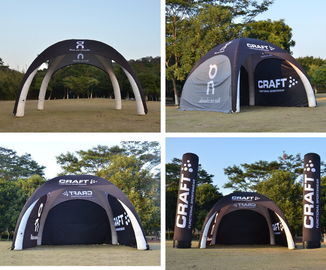 Pop Up Inflatable Exhibition Tents High Wind Resistance Air Tight Damp Proof supplier