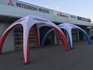 Quick Set Up Inflatable Advertising Tent , Inflatable Advertising Products Waterproof supplier