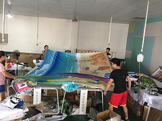Fabric Large Printing Format , Textile Large Format Display Printing 310cm Wide supplier