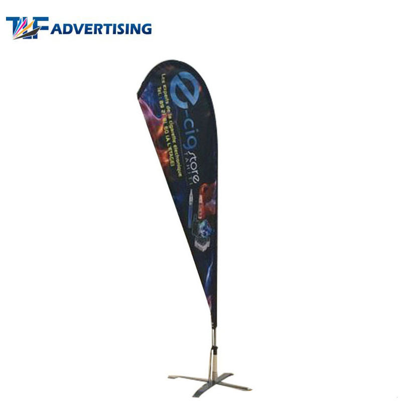 China Promotion Custom Flag Banners Extensive Waterproof Washable Glossy Surface factory