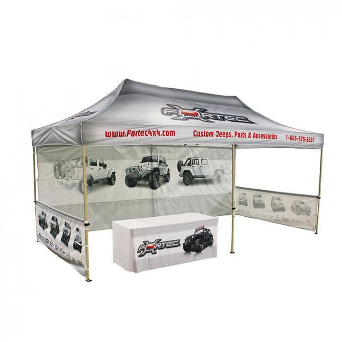 Wide Open Trade Show Canopy Tent 12x20 Large Size  Top Frame Heavy Duty Frame