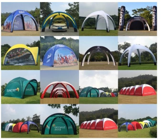 Eye Catching Inflatable Dome Tent 10x10ft Jaw Dropping Temporary Shelter